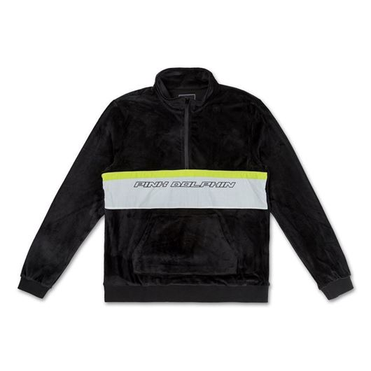 Picture of TECH SCRIPT VELOUR JACKET2.0 Black