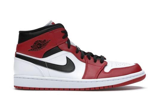 Picture of Jordan 1 Mid Chicago 2020