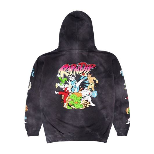 Picture of Nerm Fighter Hoodie Black Lightning Wash