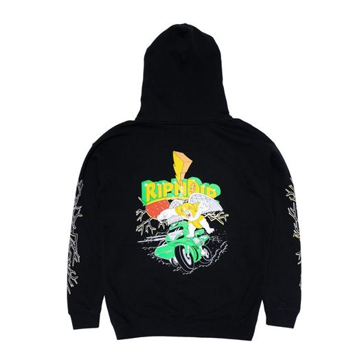 Picture of Power Nerm Hoodie Black
