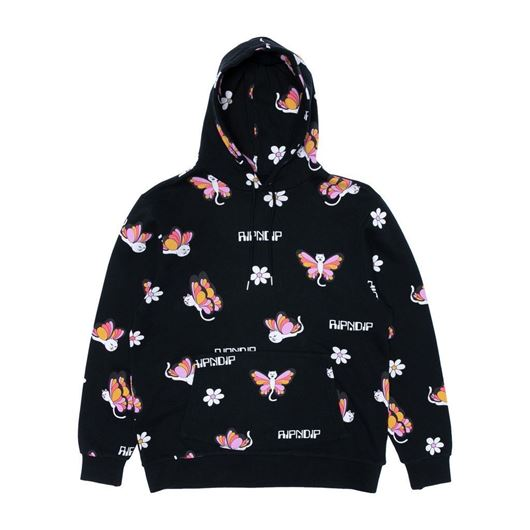 Picture of Butterfly Hoodie Black