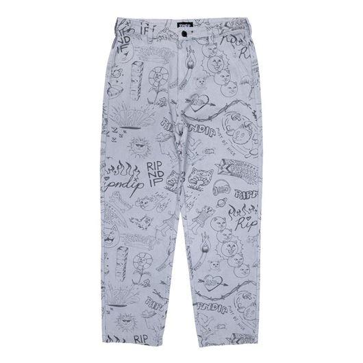 Picture of Sharpie Denim Pants Light DenimWash