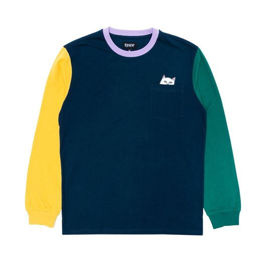 Picture of Lord Nermal Color Block Long Sleeve Multi