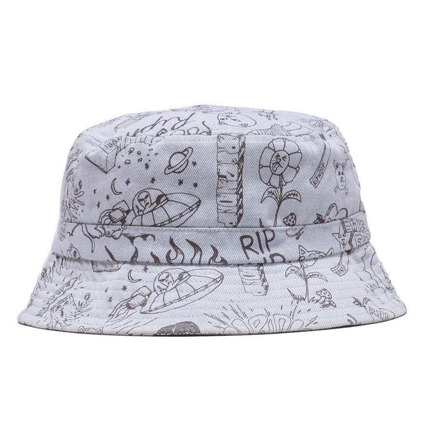 Picture of Sharpie Bucket Hat Light DenimWash
