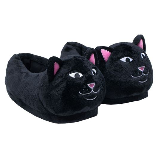 Picture of Lord Jermal Slippers Black