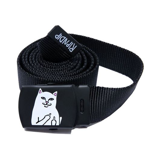 Picture of Lord Nermal Web Belt Black