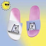 Picture of Lord Nermal Slides (UV Reactive) White