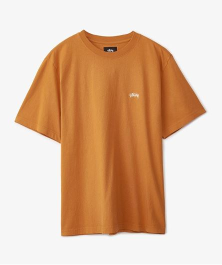 Picture of STOCK LOGO S/SL CREW Rust