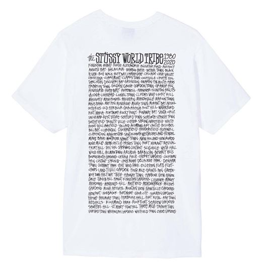 Picture of JAMAICA WORLD TRIBE TEE White