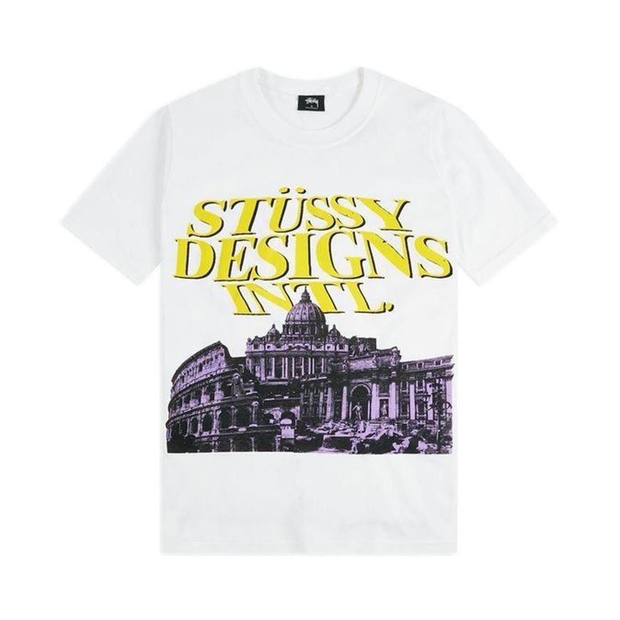 Picture of ROME TEE White