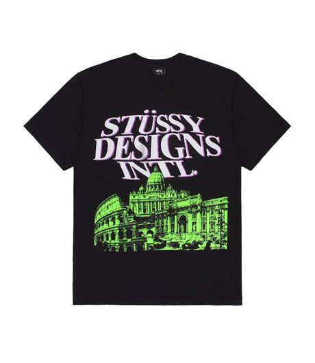 Picture of ROME TEE Black
