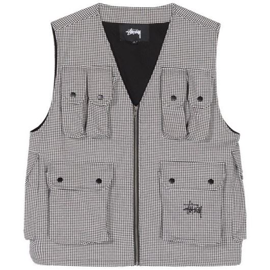 Picture of HOUNDSTOOTH WORK VEST HOUNDSTOOTH