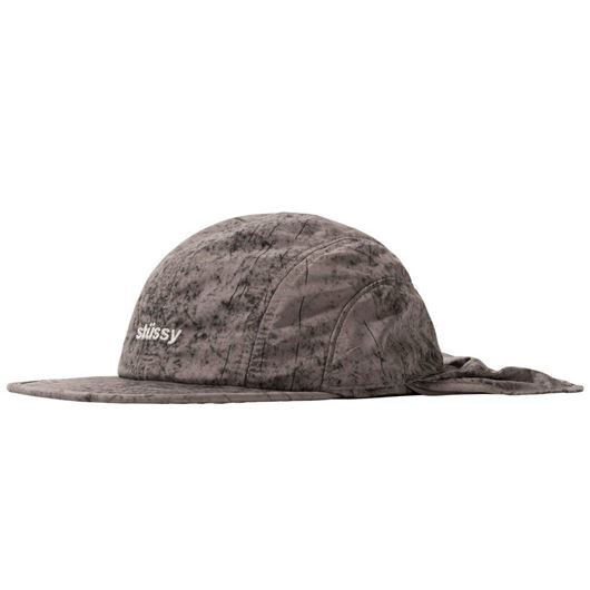 Picture of DYED NYLON BUNGEE CAMP CAP Grey