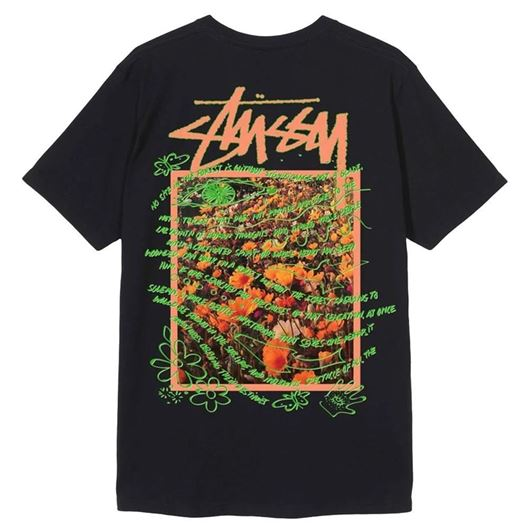 Picture of SUPER BLOOM TEE Black