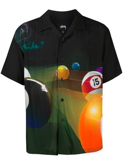 Picture of POOL HALL SHIRT Black