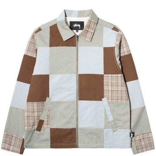 Picture of PATCHWORK ZIP JACKET Multi