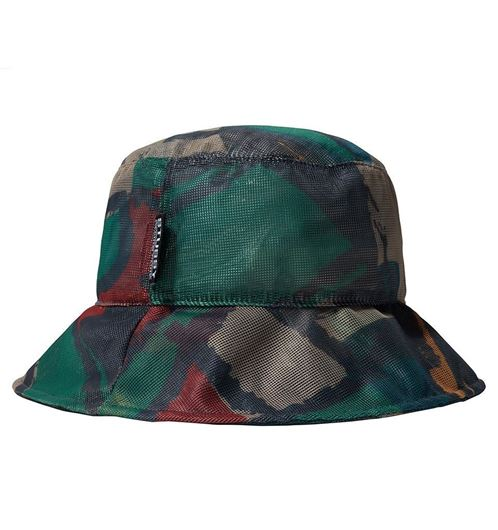 Picture of BLOCK PRINT MESH BUCKET HAT Multi