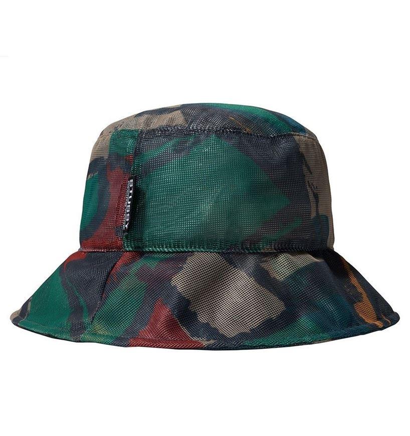 Picture of BLOCK PRINT MESH BUCKET HAT Multi