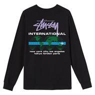 Picture of INTERNATIONAL LS TEE Black