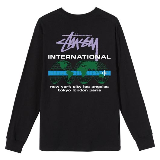 Picture of INTERNATIONAL LS TEE Black