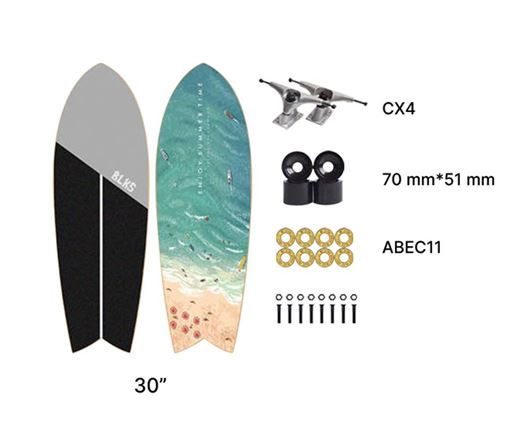 Picture of BLKS Surf Skate Beach