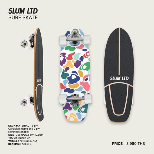 Picture of SLUM LTD Surf Skate Multi Camo