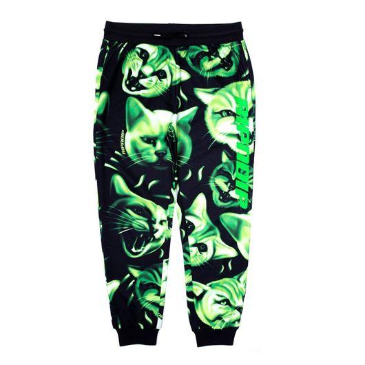 Picture of Neon Nerm Sweatpants Black