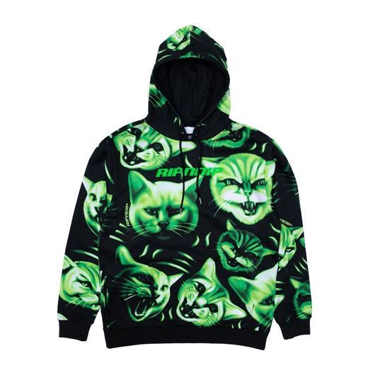 Picture of Neon Nerm Hoodie Black