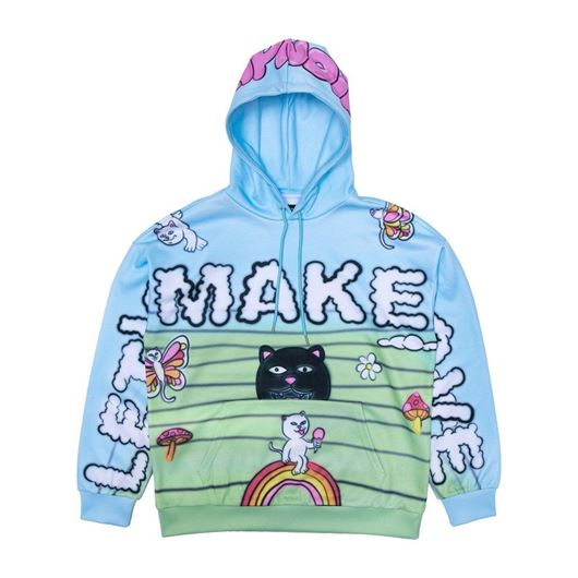 Picture of Lets Make Love Hoodie Multi