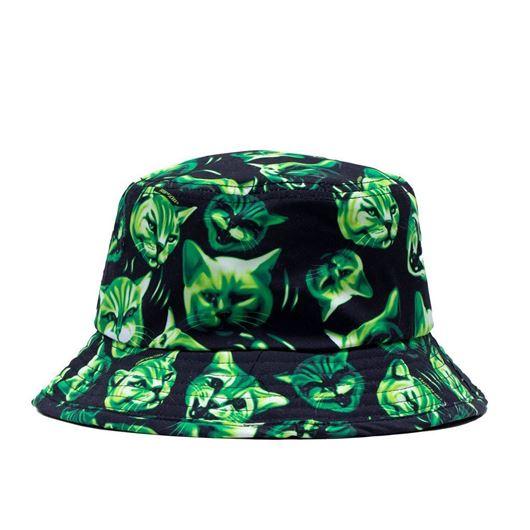 Picture of Neon Nerm Bucket Hat Black